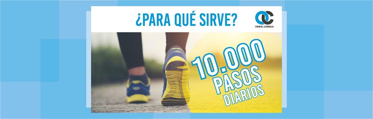 10.000 pasos al día