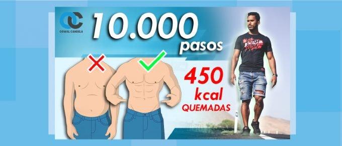 Cuántos pasos dar para perder grasa