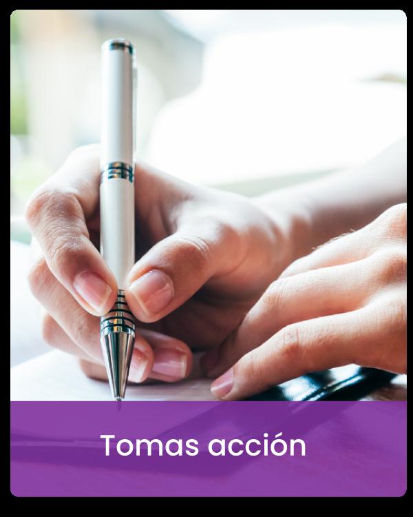 Tomas-accion
